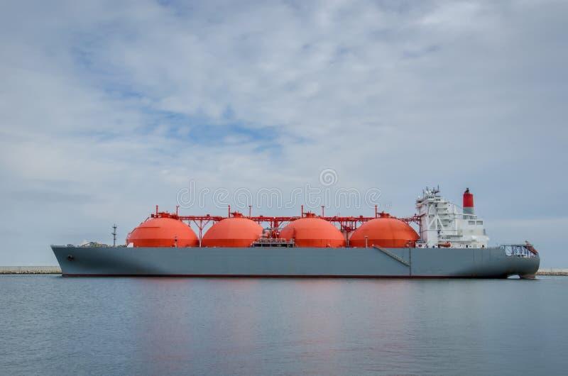 LNGtanker stock foto