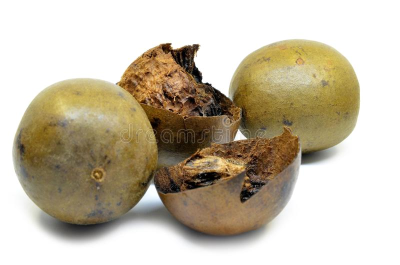 Lo Han Guo, Monk or Buddha fruit stock images