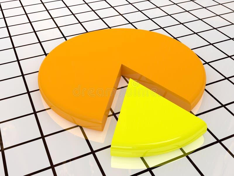 Lo schema giallo illustrazione di stock