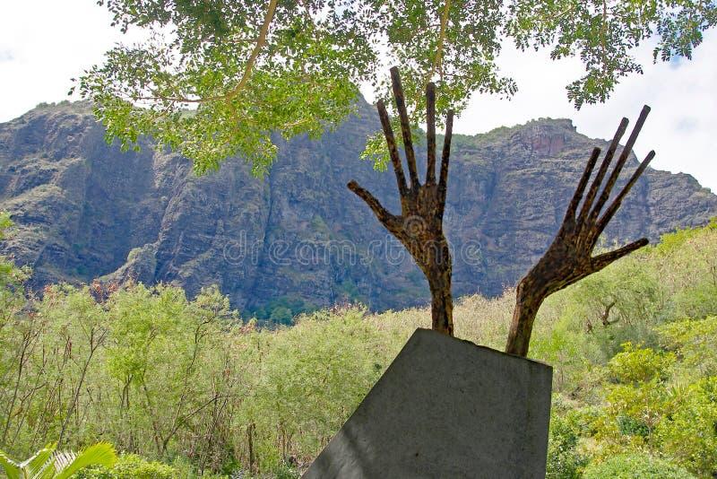 Lo schiavo Route Monument, Mauritius immagine stock