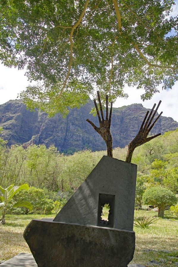 Lo schiavo Route Monument, Mauritius immagine stock libera da diritti