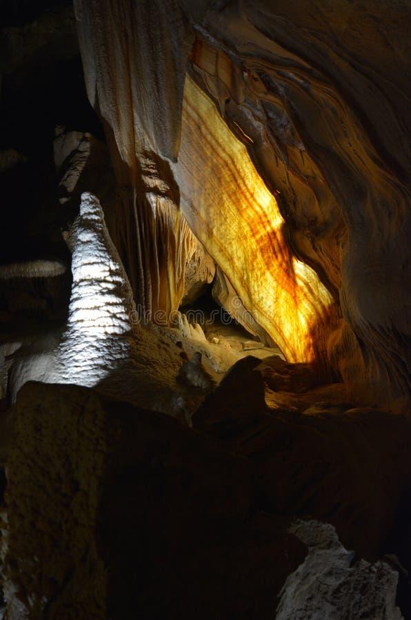 Lo scialle gigante Jenolan scava il Nuovo Galles del Sud blu delle montagne australe immagini stock libere da diritti