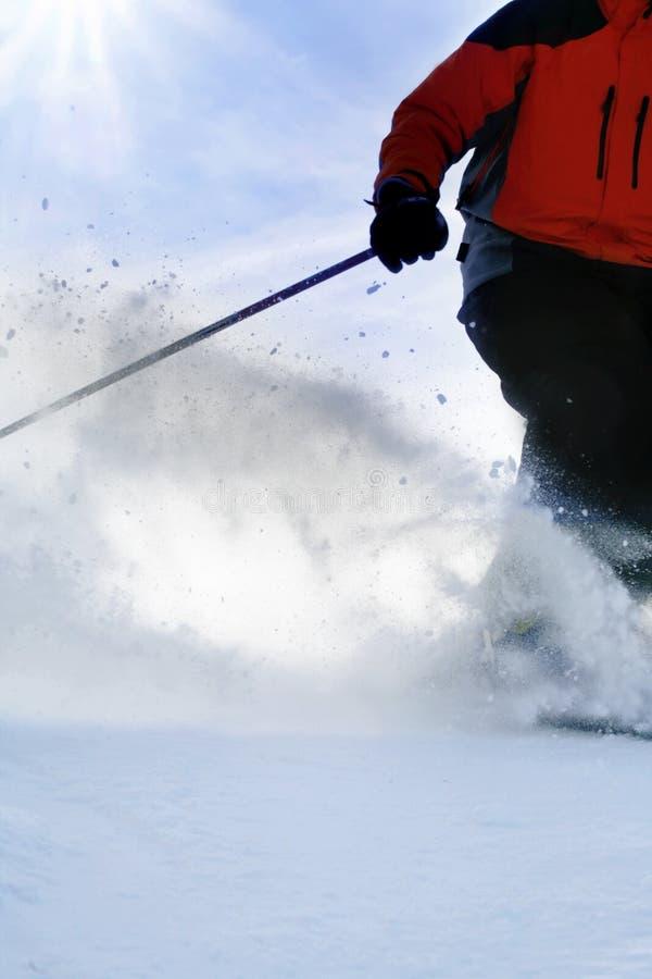 Lo sciatore fotografie stock libere da diritti