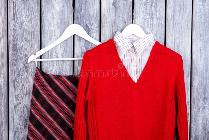 Lo sguardo femminile dell'inverno di bellezza con tricotta il maglione fotografie stock libere da diritti