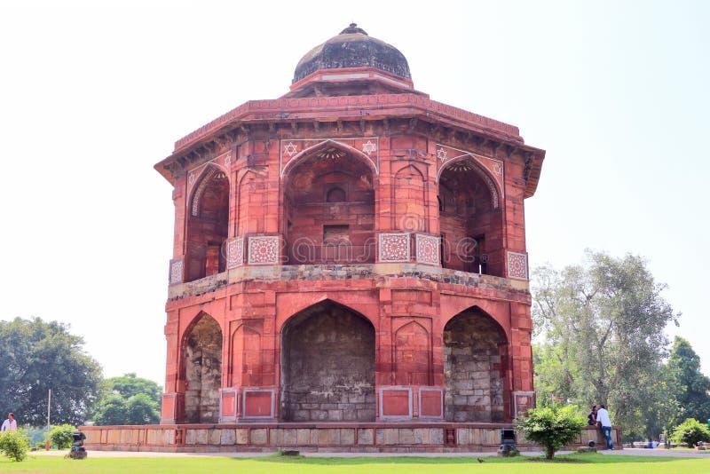 Lo Sher Mandal è un osservatorio, ottagonale nella forma immagini stock