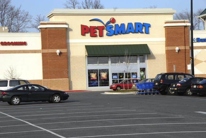 Lo smart store dell'animale domestico in alloro, Maryland immagine stock libera da diritti