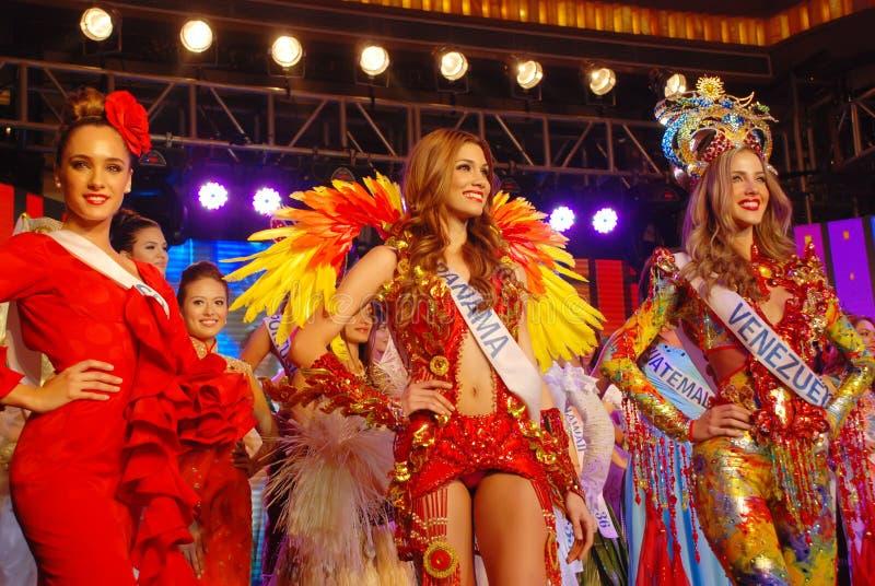 Lo spettacolo di bellezza internazionale di cinquantunesima mancanza 2011 fotografia stock libera da diritti