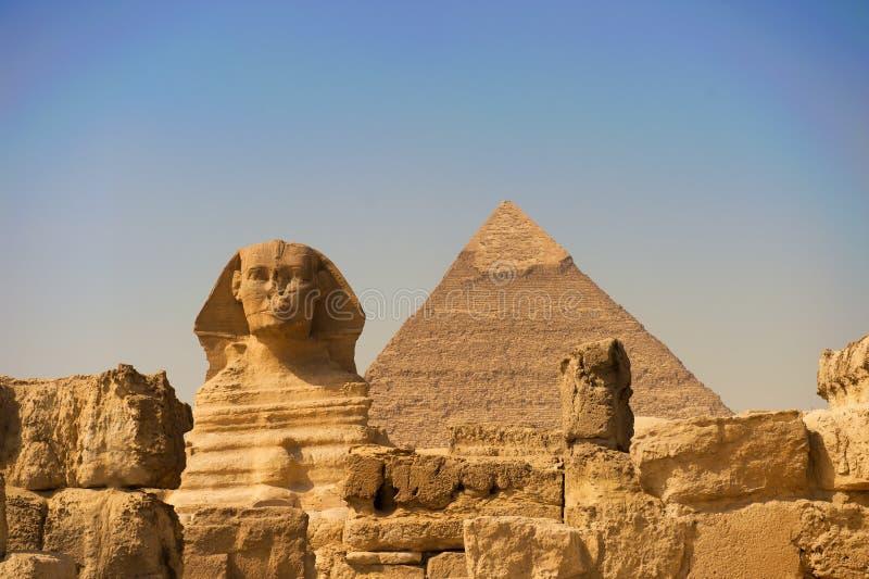 Lo Sphinx di Giza fotografia stock libera da diritti