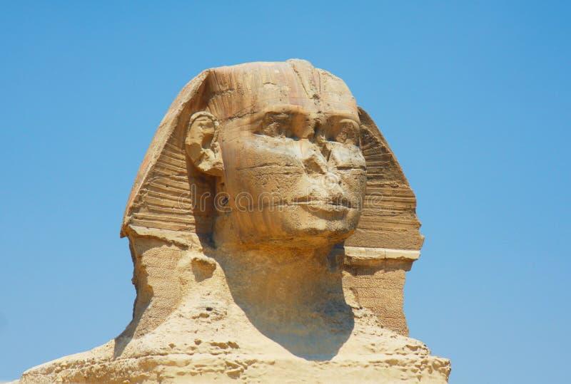 Lo Sphinx nell'Egitto immagine stock libera da diritti