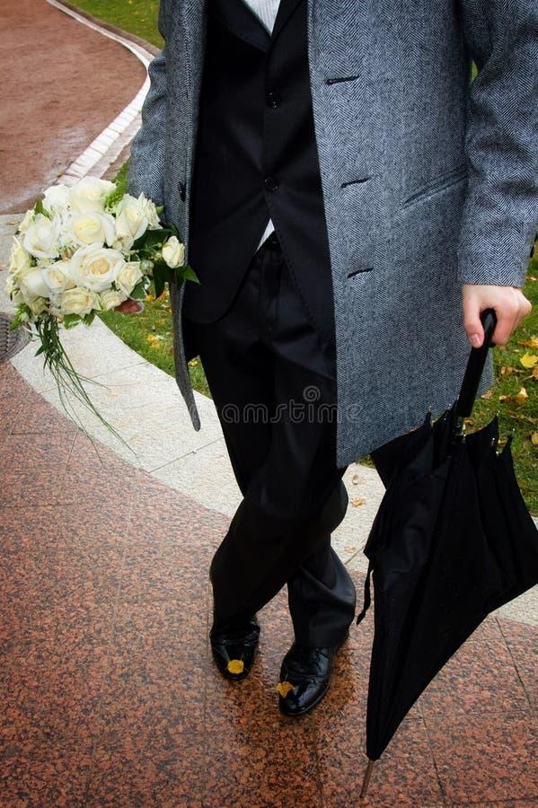 Lo sposo fotografia stock