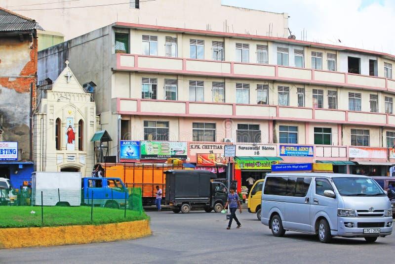 Lo Sri Lanka Colombo Cityscape immagine stock