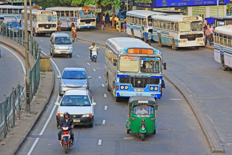 Lo Sri Lanka Colombo Cityscape immagine stock libera da diritti