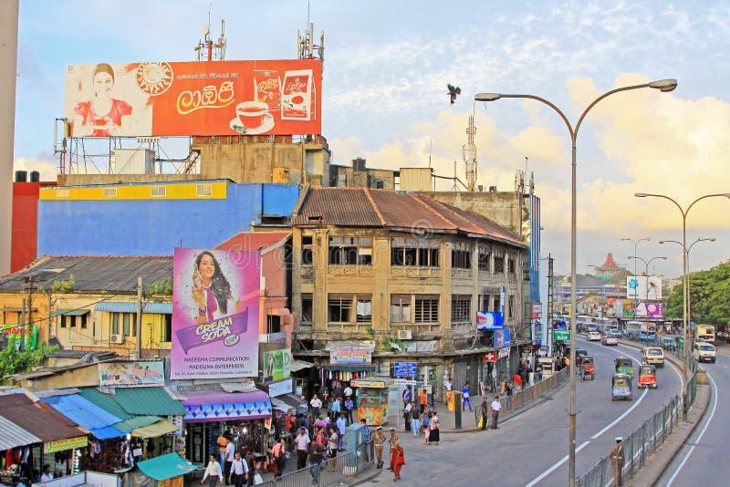 Lo Sri Lanka Colombo Cityscape fotografie stock