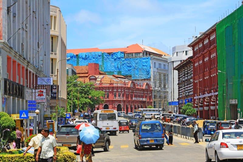 Lo Sri Lanka Colombo Cityscape fotografia stock
