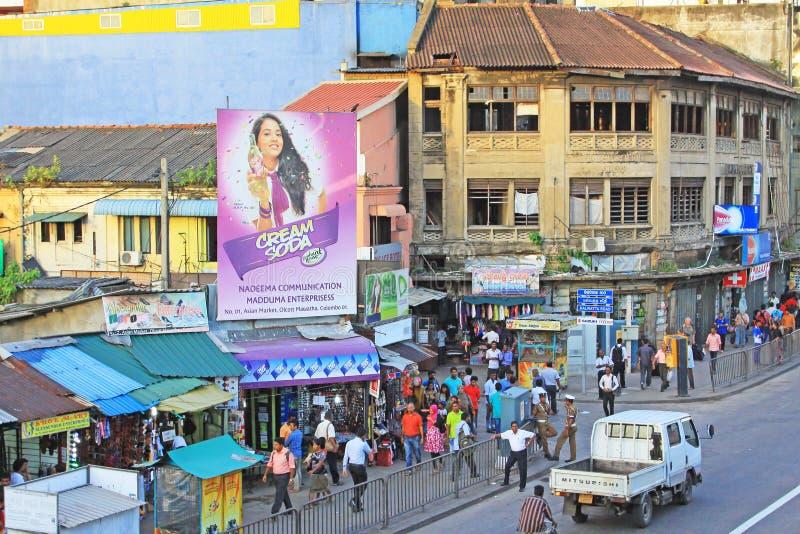 Lo Sri Lanka Colombo Cityscape immagini stock