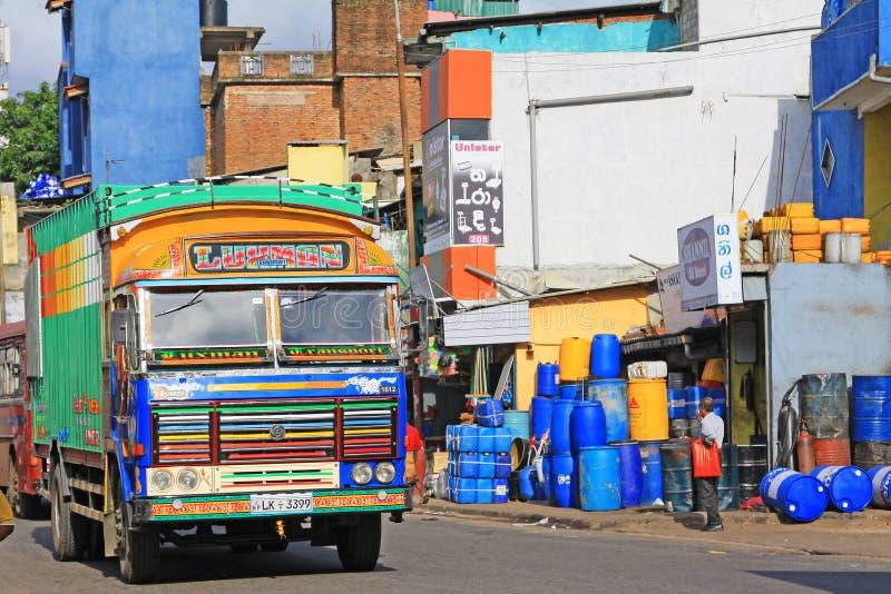 Lo Sri Lanka Colombo Cityscape fotografia stock libera da diritti