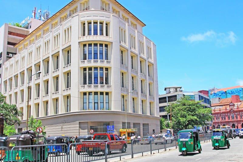 Lo Sri Lanka Colombo Cityscape fotografie stock libere da diritti