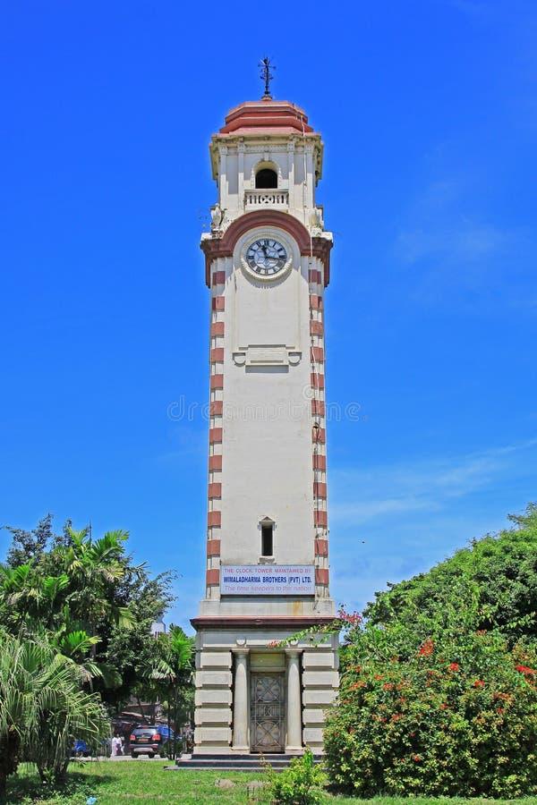 Lo Sri Lanka Colombo History Clock Tower fotografia stock