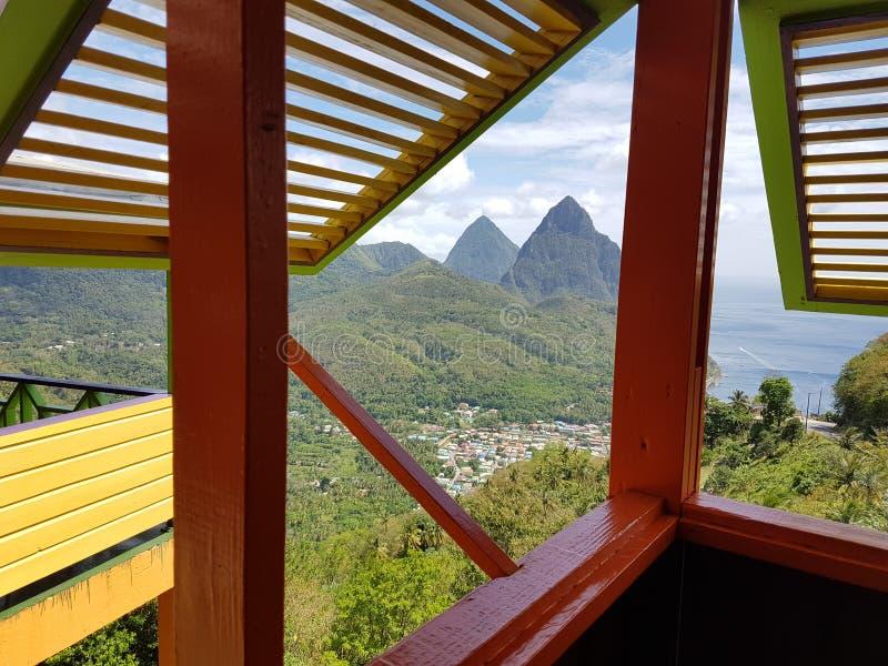 Lo St Lucia fotografia stock libera da diritti