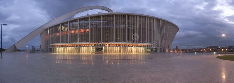 Lo stadio di calcio di Durban Moses Mabhida immagini stock