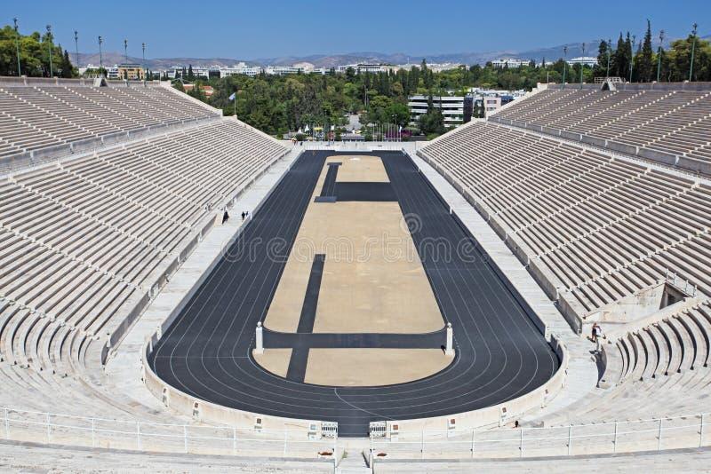 Lo stadio di Panathenaic a Atene immagine stock libera da diritti