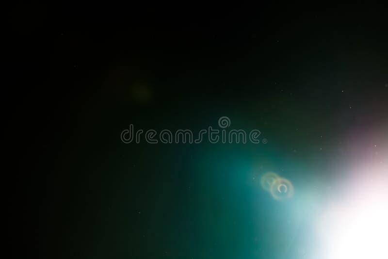 Lo studio reale del chiarore della lente ha sparato facile aggiungere come filtro sopra le foto fotografie stock libere da diritti