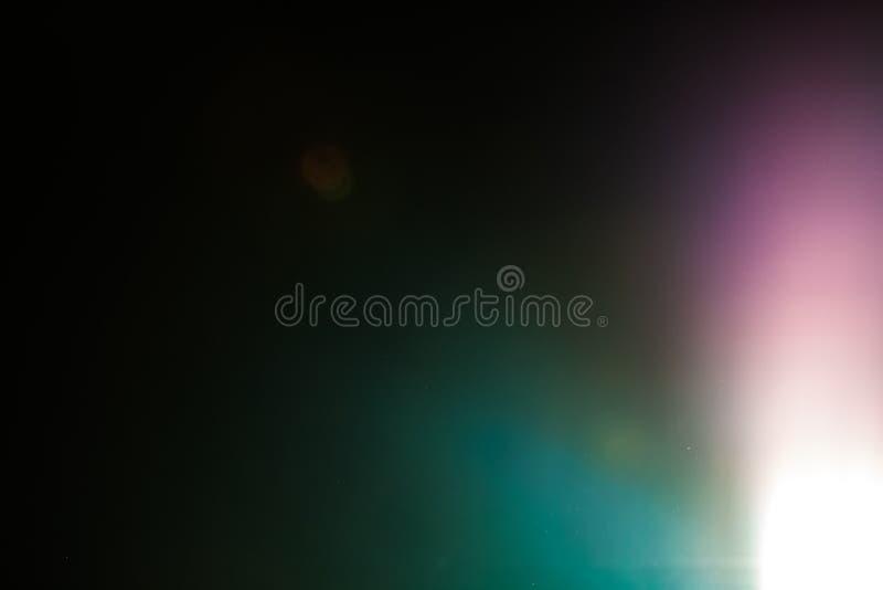 Lo studio reale del chiarore della lente ha sparato facile aggiungere come filtro sopra le foto fotografia stock libera da diritti