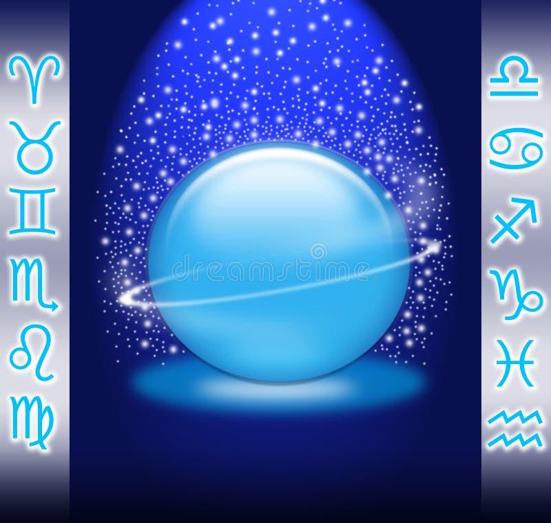 Lo zodiaco illustrazione di stock