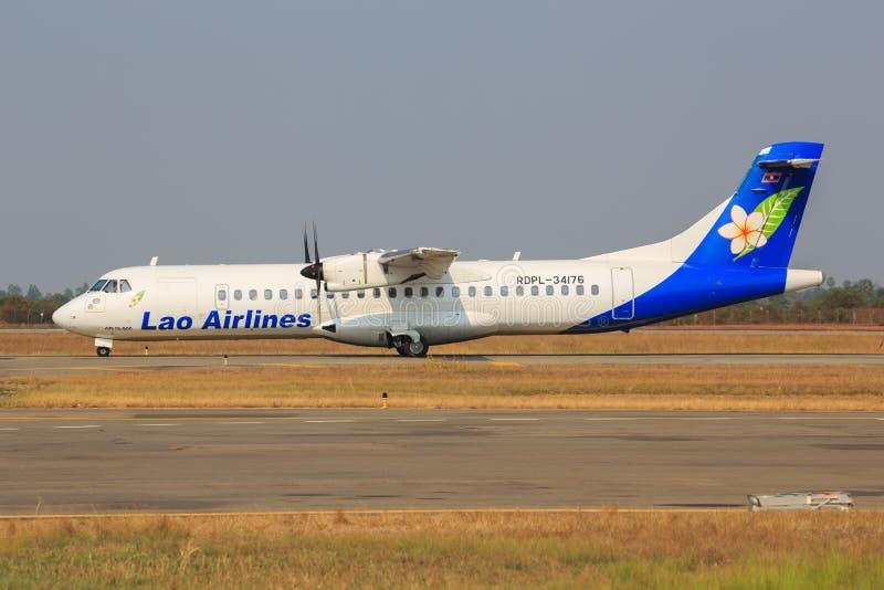 Loa Airline photo stock