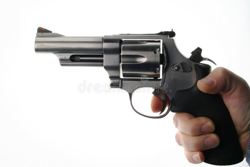 Download Loaded Gun stock image. Image of fingerprints, hammer, dangerous - 505583