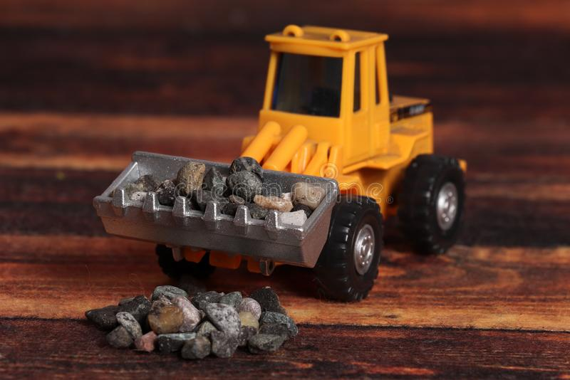 Loader machine royalty free stock photography