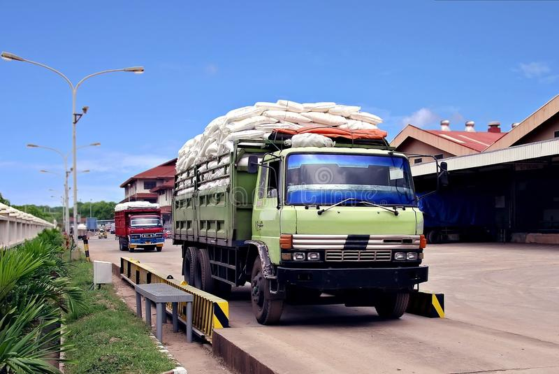 Download Loading stock photo. Image of loading, truck, contents - 13301002