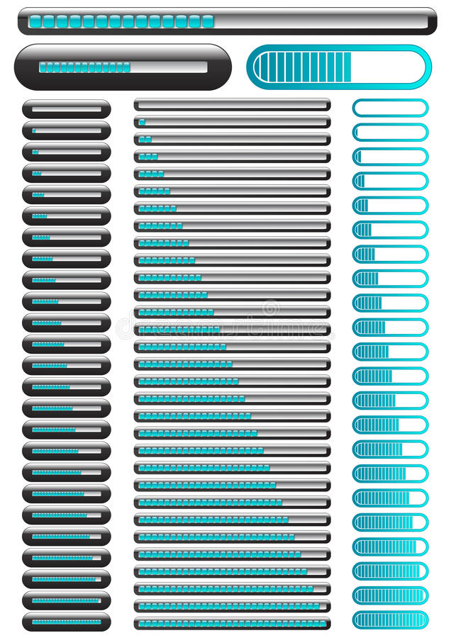 Download Loading Animated Indication Bar Stock Vector - Image: 15128756