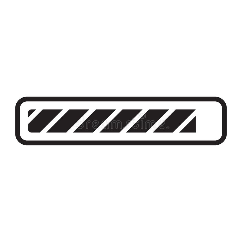 Loading Bar vector illustration
