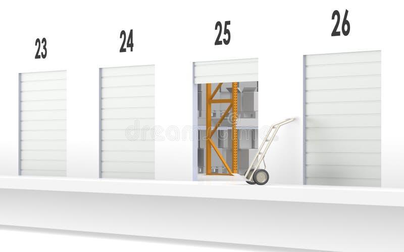 Loading Dock. Part of warehouse series vector illustration