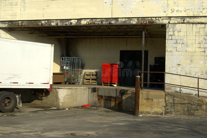 Loading Dock royalty free stock photos