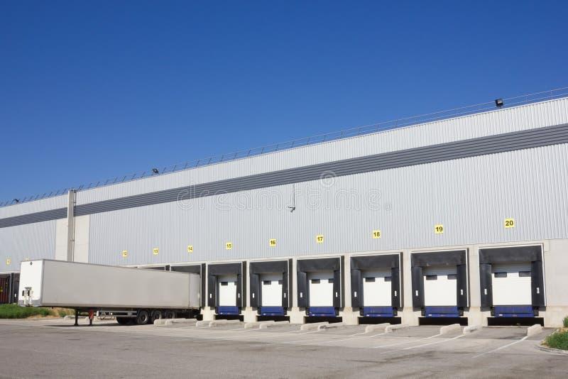 Download Loading docks stock photo. Image of unload, logistics - 26744430