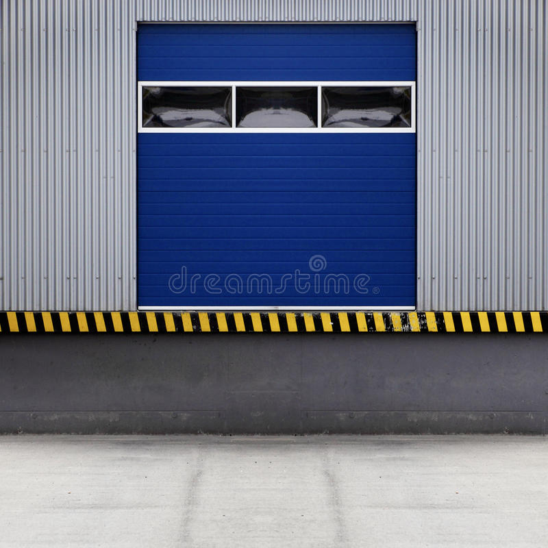 Loading door royalty free stock image