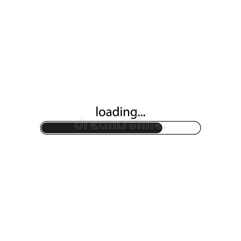 Loading icon, isolated on white background. Web icon. Vector illustration vector illustration