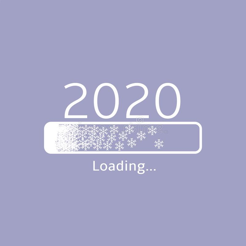 2020 loading icon template vector illustration