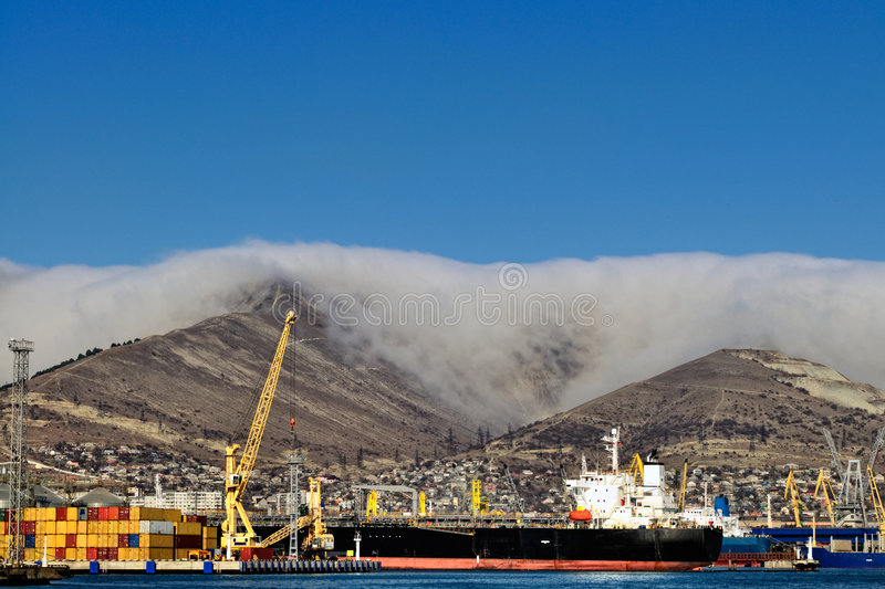 Download Loading oil tanker stock photo. Image of terminal, ship - 7702188