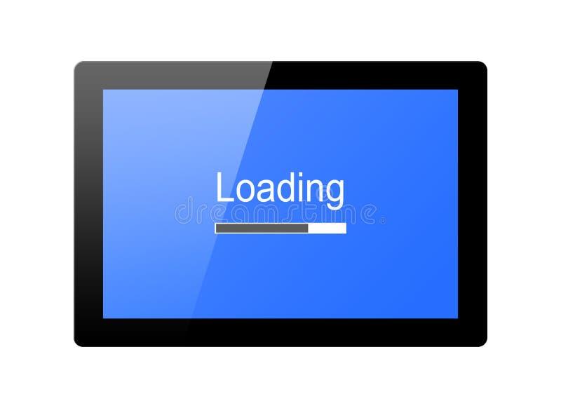 Loading progress bar vector illustration