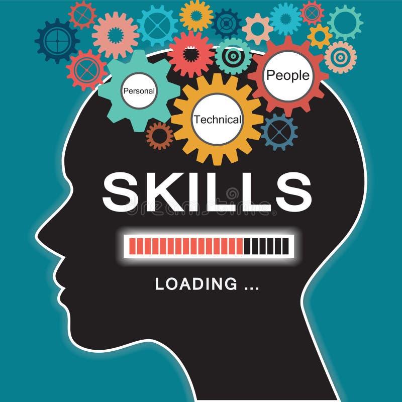 Loading skills concept vector illustration