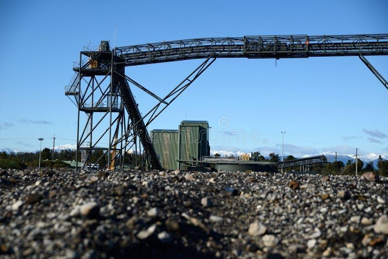Loadout de charbon image libre de droits