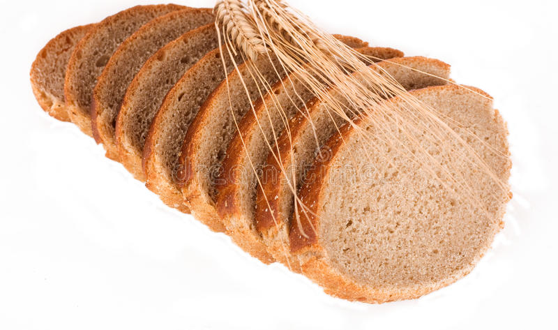 Loaf of multigrain bread stock photography