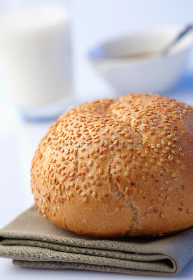 Loaf with sesame