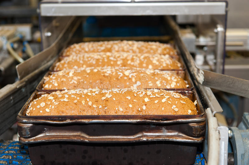 Download Loafs Of Bread In The Factory Stock Image - Image: 18931807