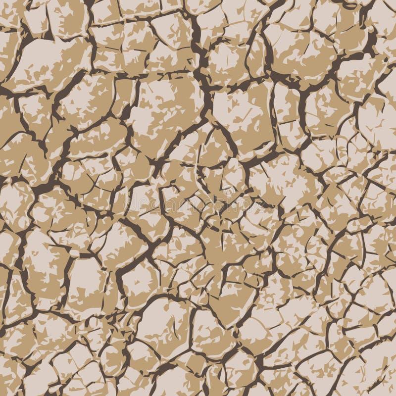 Loamy soil texture stock illustration