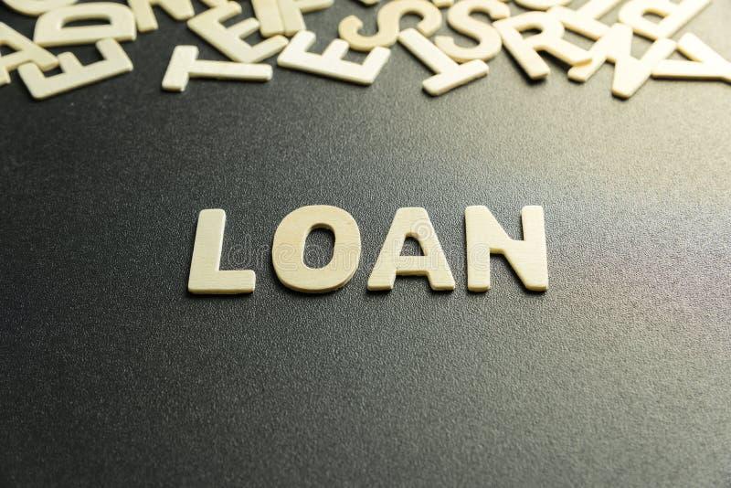 LOAN word stock photo