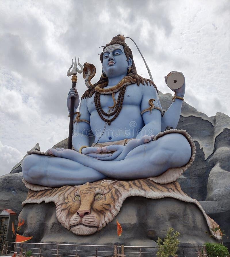 Loard Shiva dios hindú también conocido como Mahadev foto de archivo libre de regalías